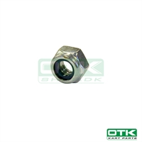 Self locking nut, low, M6