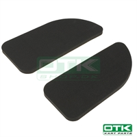 Seats sticky foam rubber pads, OTK