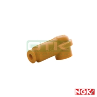 Spark plug cap, NGK for R7282, Yellow