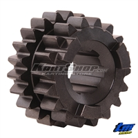 Gear 3rd-4th Mainshaft Z18 - Z22, TM KZ10