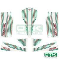 Tonykart Mini EXP bodyworks sticker kit