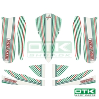 Tonykart Stickers kit M5, 2019