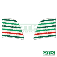 Tonykart fuel tank stickers for 3L tank, 2019