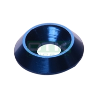 Counter sunk washer 18x6 mm, blue