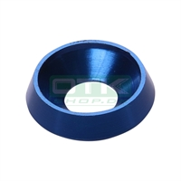 Counter sunk washer 19x8 mm, blue