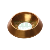 Counter sunk washer 19x8 mm, gold