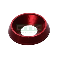 Counter sunk washer 19x8 mm, red