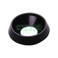 Counter sunk washer 19x8 mm, black