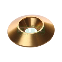 Counter sunk washer 30x8 mm, gold