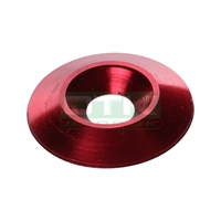 Counter sunk washer 30x8 mm, red