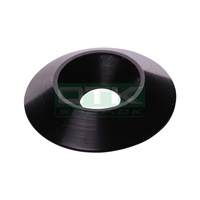 Counter sunk washer 30x8 mm, black