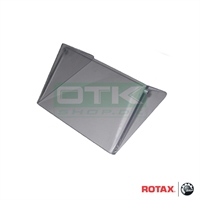 Wind shield for radiator, Rotax Max