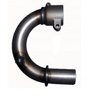 Muffler bent pipe for Cadett - OKJ